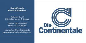 Sponsor TSV Bernau Fußballabteilung - Continentale Schelshorn