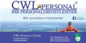 Sponsor TSV Bernau Fußballabteilung - CWL Personal
