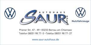 Sponsor TSV Bernau Fußballabteilung - Autohaus Saur