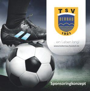 Cover Sponsoringkonzept TSV Bernau Fußballabteilung