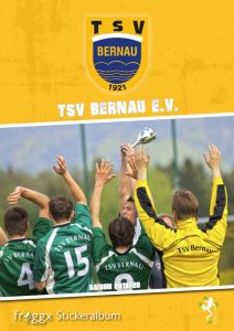 Cover Stickeralbum TSV Bernau Fußball
