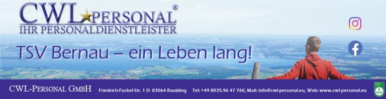 CWL-Personal - Homepage-Sponsor TSV Bernau Fußball
