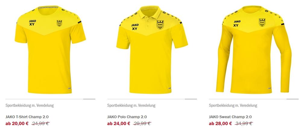TSV Bernau Vereinsshop neu