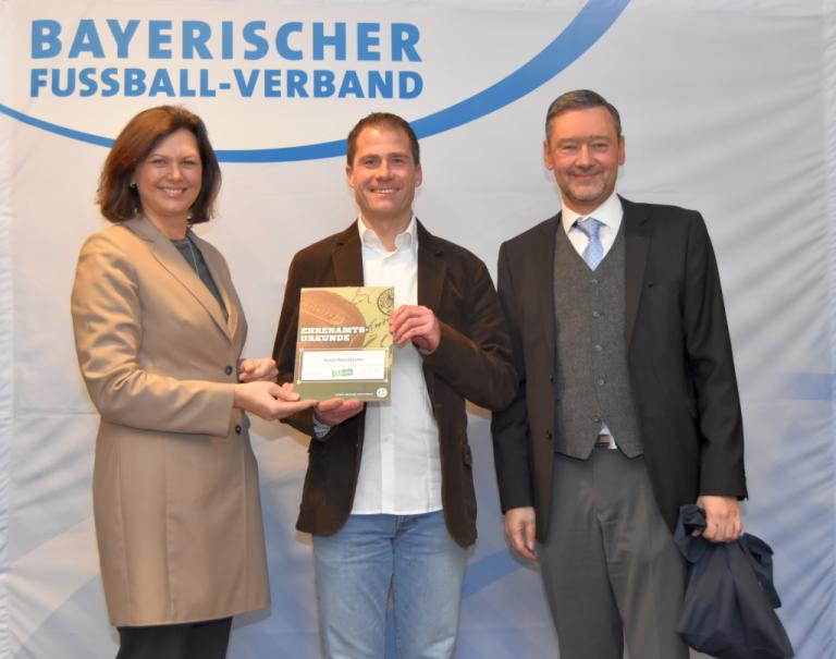 Donat Steindlmüller - Gewinner DFB Sonderpreis 2018