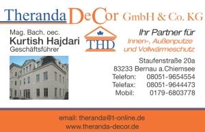 Sponsor TSV Bernau Fußballabteilung - Theranda DeCor