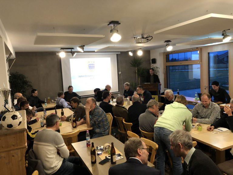Jahreshauptversammlung TSV Bernau Fußballabteilung